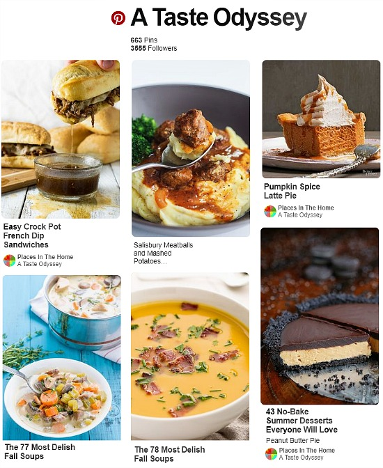 recipes from Pinterest