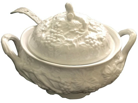vintage-soup-tureen-and-ladle