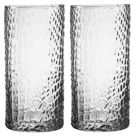 Bistro Croc Glass Highball Glass
