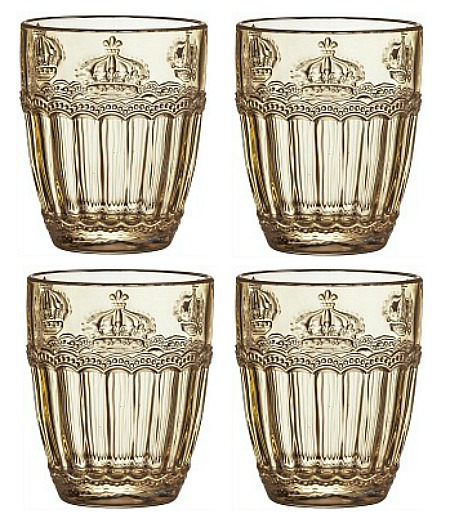 Crown-cocktail-glasses