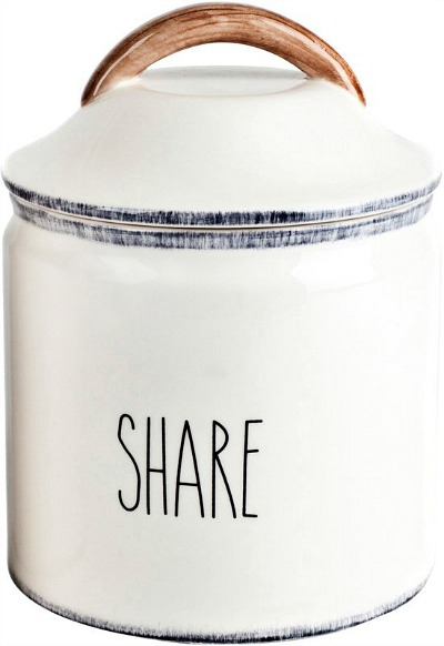 Delano+Farmhouse+Share+0.5+qt.+Kitchen+Canister