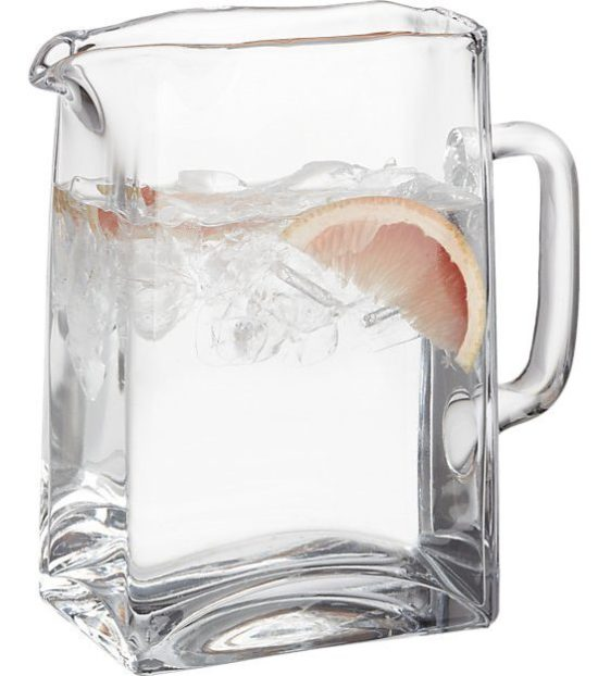 clear-glass-pitcher