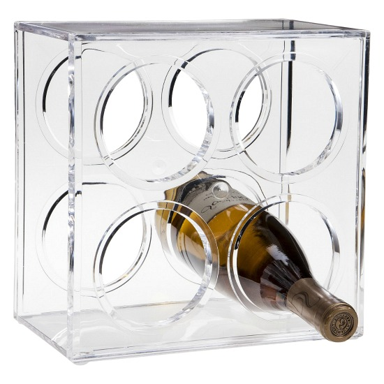 Plastic Wine Bottle Rack