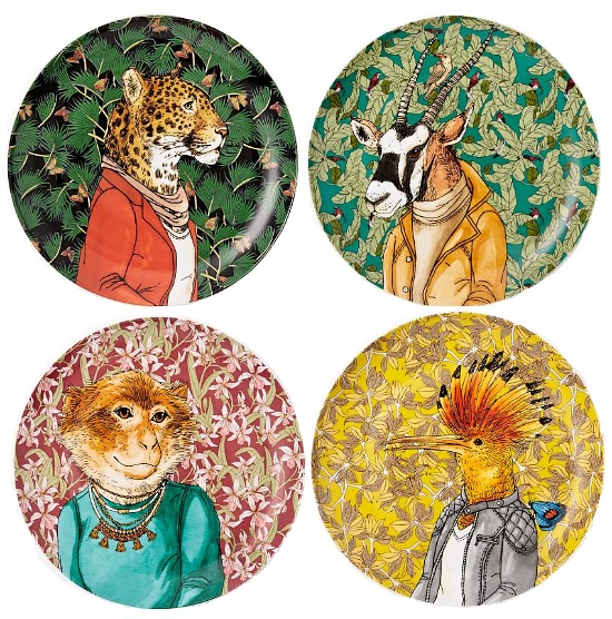 dapper-animal-salad-plates