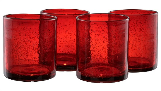 Artland Inc. Iris Ruby DOF Glasses - Set of 4