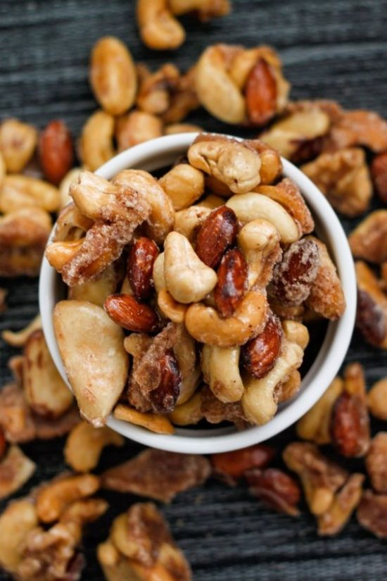 stovetop sugar free candied nuts