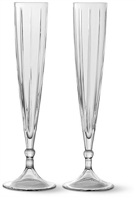 Dorset Toasting Flutes, Set of 2