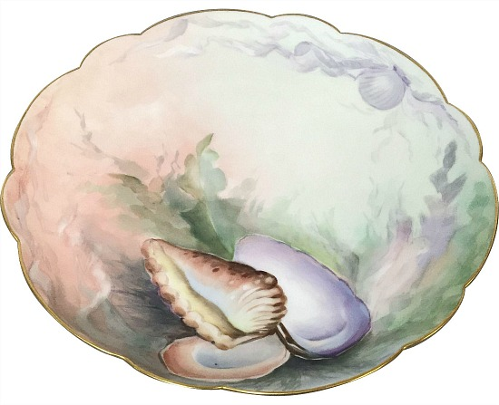 Limoges-oyster-plate