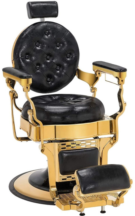 BarberPub Vintage Barber Chair Frame Hydraulic Recline Salon 2947
