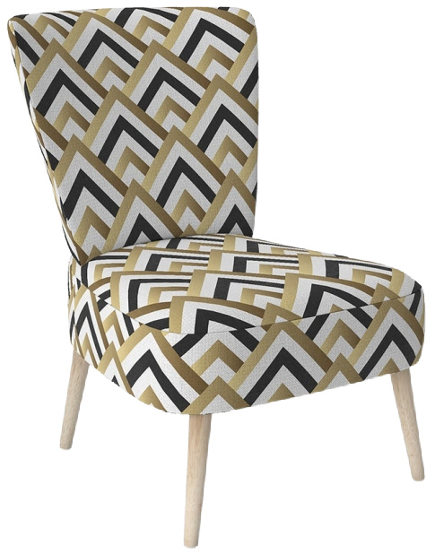Designart-Gold-Black-And-White-Triangle-Upholstered-Mid-Century-Accent-Chair (1)