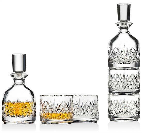 Dublin Stackable Decanter with 2 Glasses