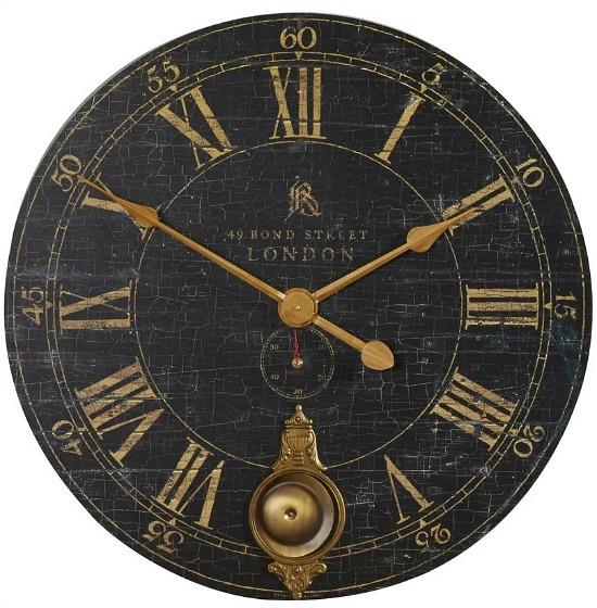 """Oversized Saint-Benoit 30"""" Wall Clock"""
