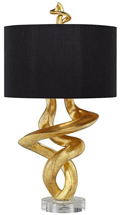 Pacific Coast Lighting Tribal Impressions Table Lamp