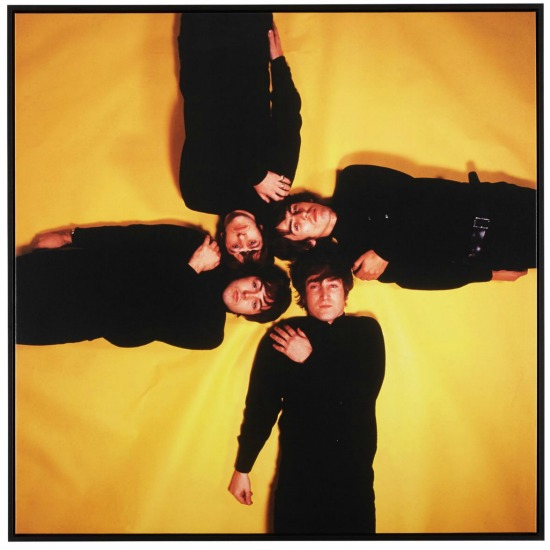 The Beatles-On Gold Print