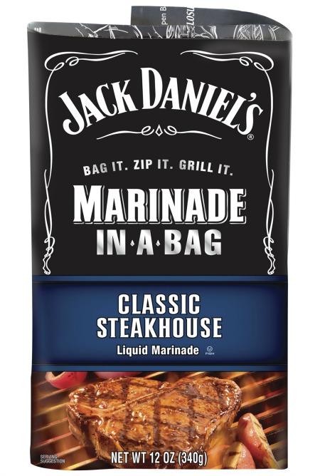 Jack Daniels Classic Steakhouse Marinade In-A-Bag