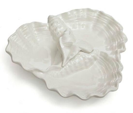 Cozart Triple Shell Dish