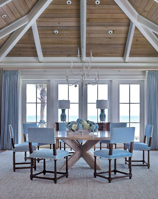 Cronk Duch Architecture beach style Jacksonville dining room
