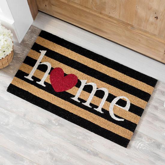 Home-Heart-Door-Mat