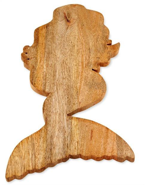 Mermaid Wooden Serving Board