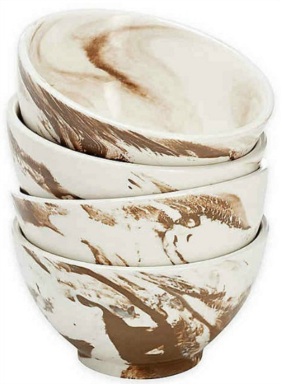 Over-and-Back-Dune-Marble-Bowls-in-Brown-White