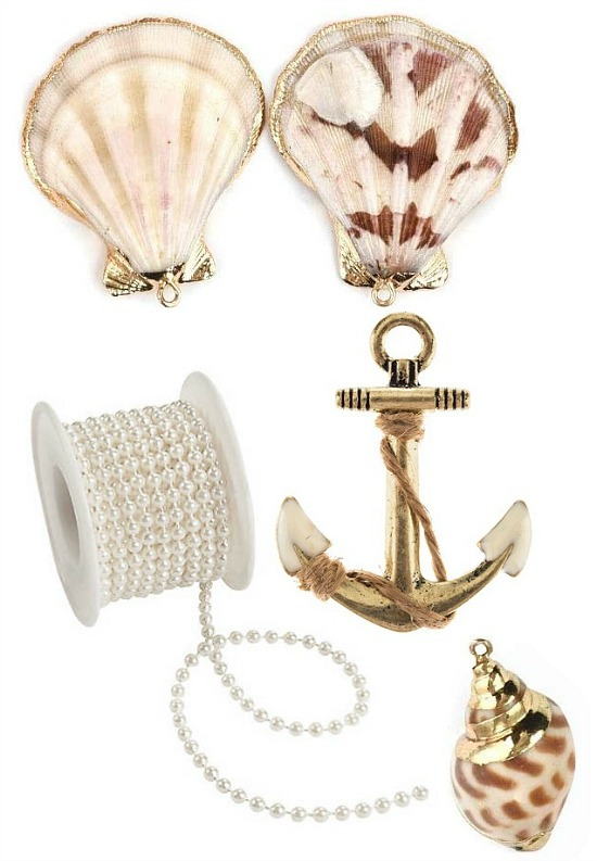 by the sea table setting accents and accessories