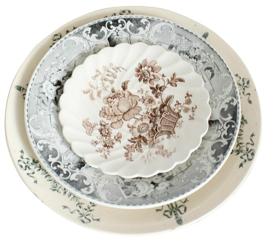 vintage-black-and-brown-china-plates-set-of-3
