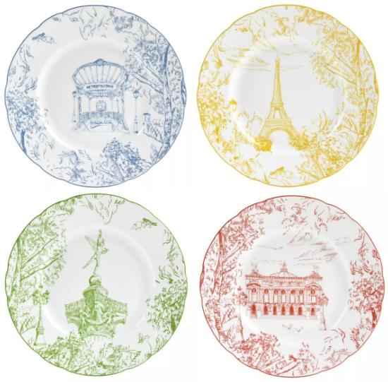 Bernardaud Tout Salad Plates