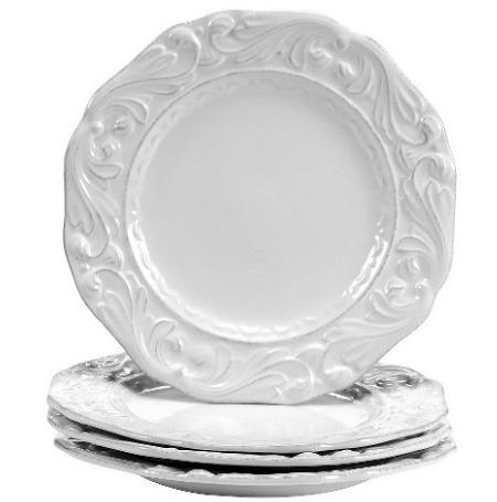 Certified International Firenze Ivory Dessert Plates Set of 4