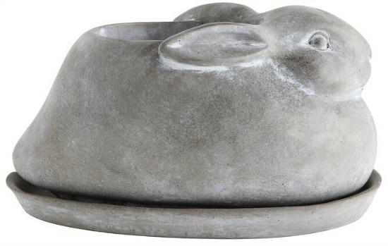 Kleist+2+Piece+Cement+Statue+Planter+Set