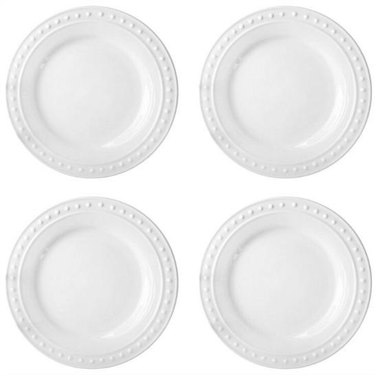 """Monique 10.5"""" Dinner Plate (Set of 4)"""
