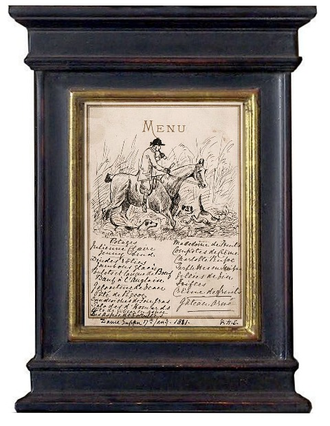 blue-frame-French-menu