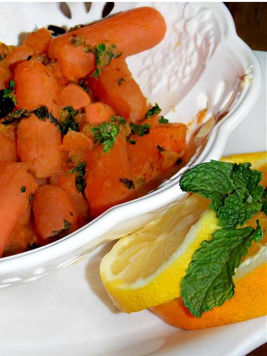 carrots-with-fresh-lemon-orange-mint