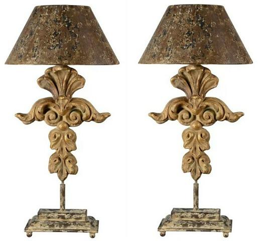 """Farragut 33"""" Table Lamps"""