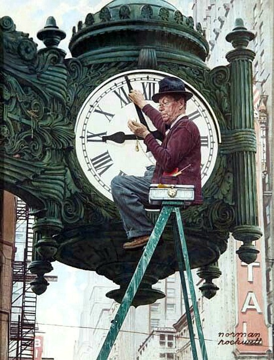 norman-rockwell-clock-mender