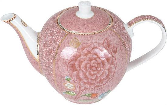 Pip Studio - Spring To Life Teapot - Pink