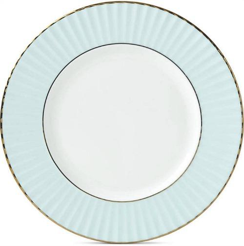 Lenox Pleated Colors Aqua Salad Plate