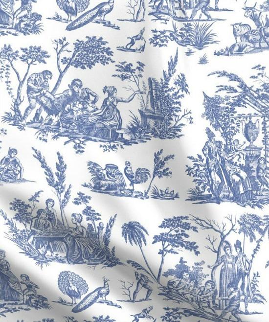 toile-blue-fabric