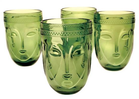 Art & Artifact Buddha Drinking Glasses - Set of 4