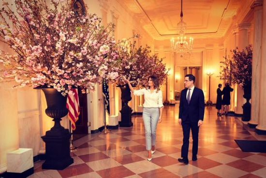Grand hall White House