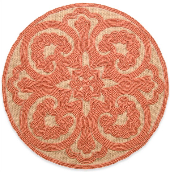 beaded-coral-placemat
