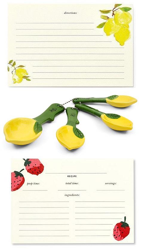 recipe-cards-lemon-strawberry-kate-spade