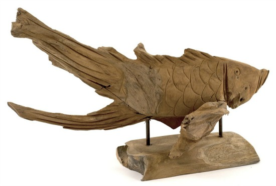 Andaman Fish Sculpture