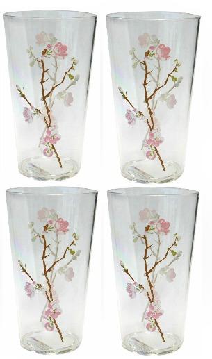 Coordinates+19+oz.+Drinkware+Set+with+Cherry+Blossom+Design