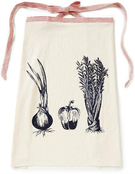 Southern Living Trinity Vegetable-Print Apron