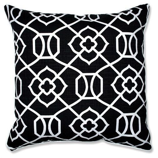 black-white-floor-pillow