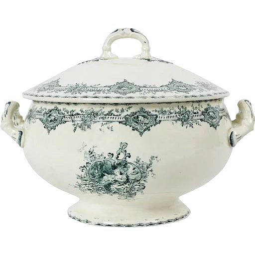 soup-tureen-green