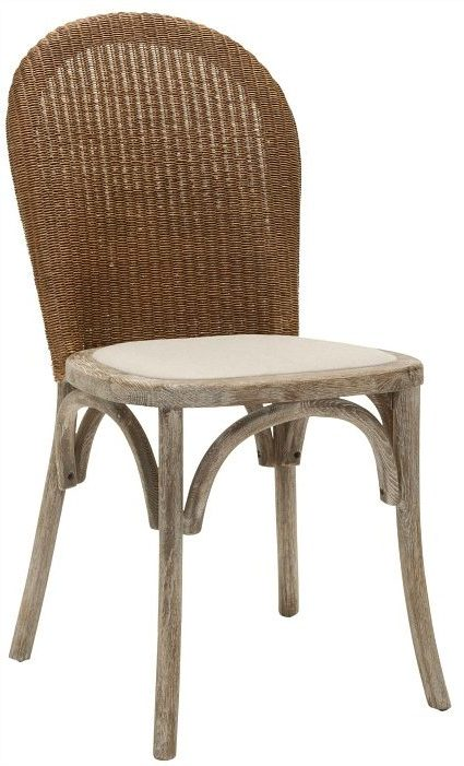 Safavieh-Rural-Woven-Dining-La-Rochelle-Antiqued-Oak-Finish-Taupe-Dining-Chairs