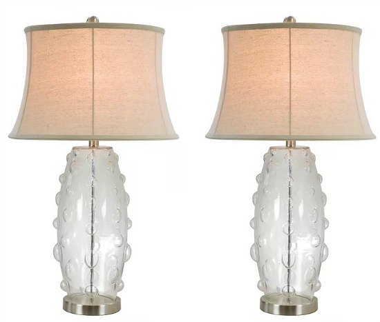 anthony California table lamps