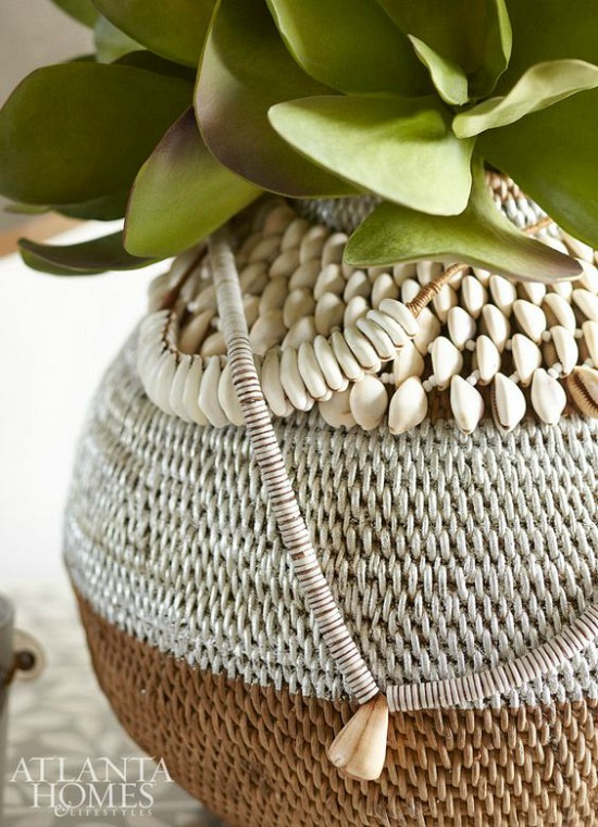 magnolia-leaves-rattan-vase