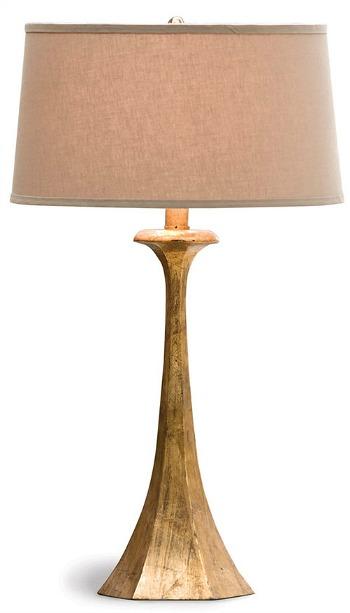Tapered Hex Column Lamp